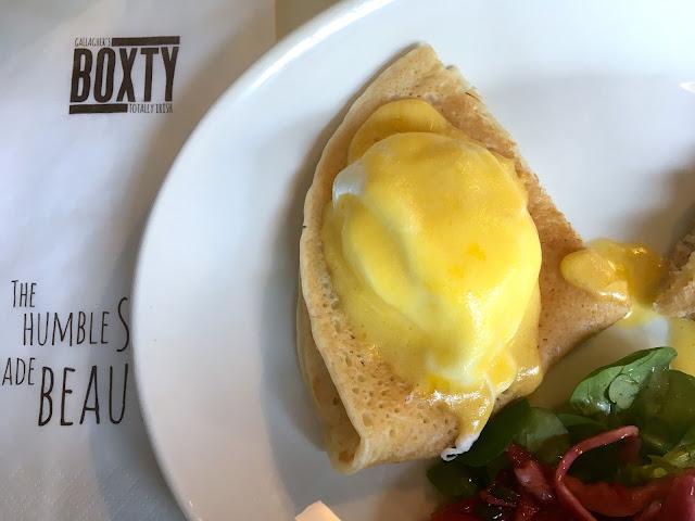 Boxty pancake in Dublin - Boxty House
