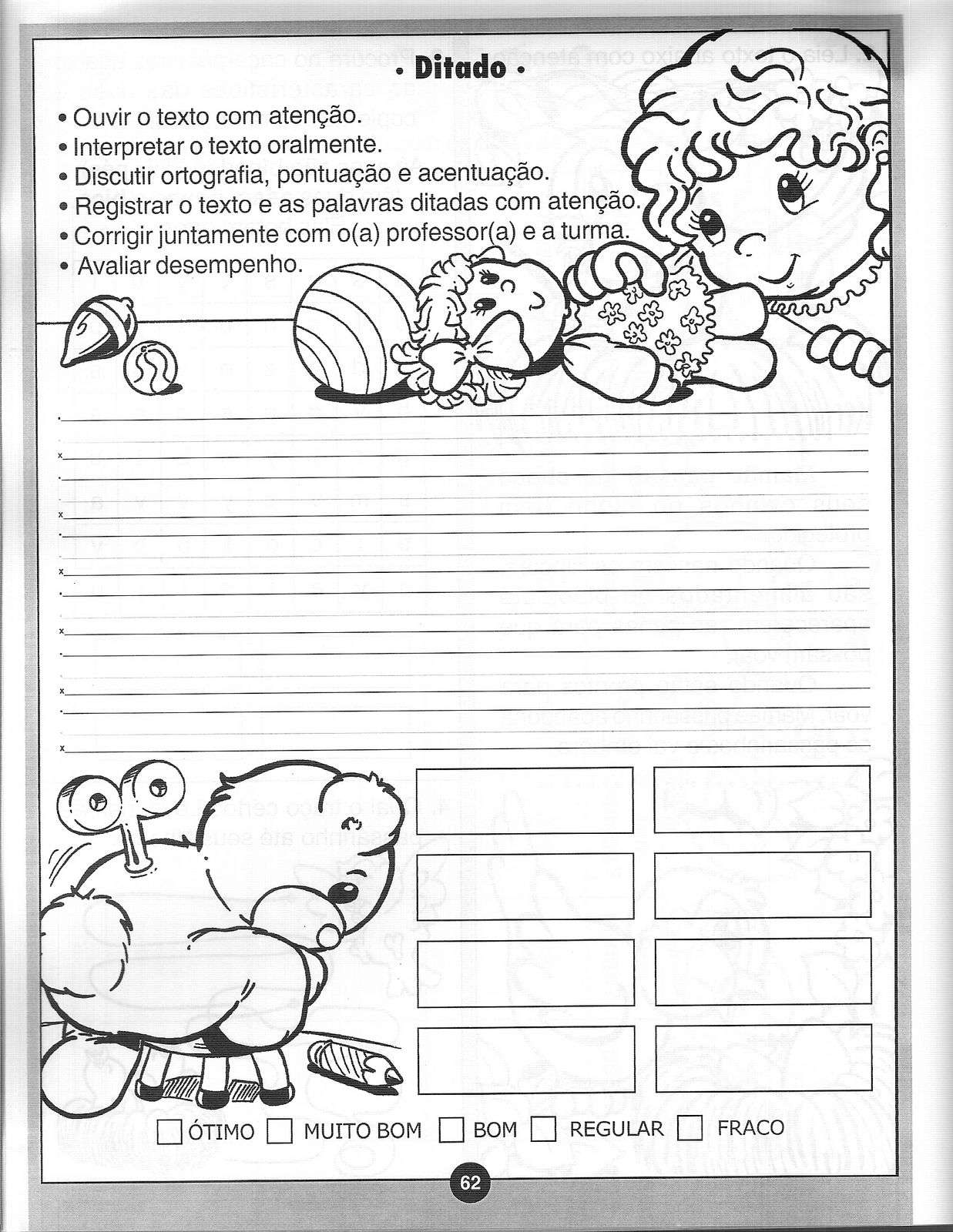 Atividades De Alfabetizacao Exercicios 20 Portal Escola