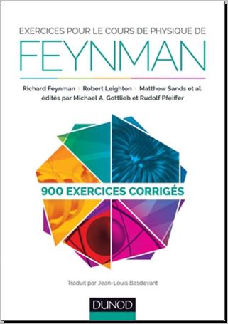 Livre : Exercices pour le cours de physique de Feynman, 900 exercices corrigés PDF