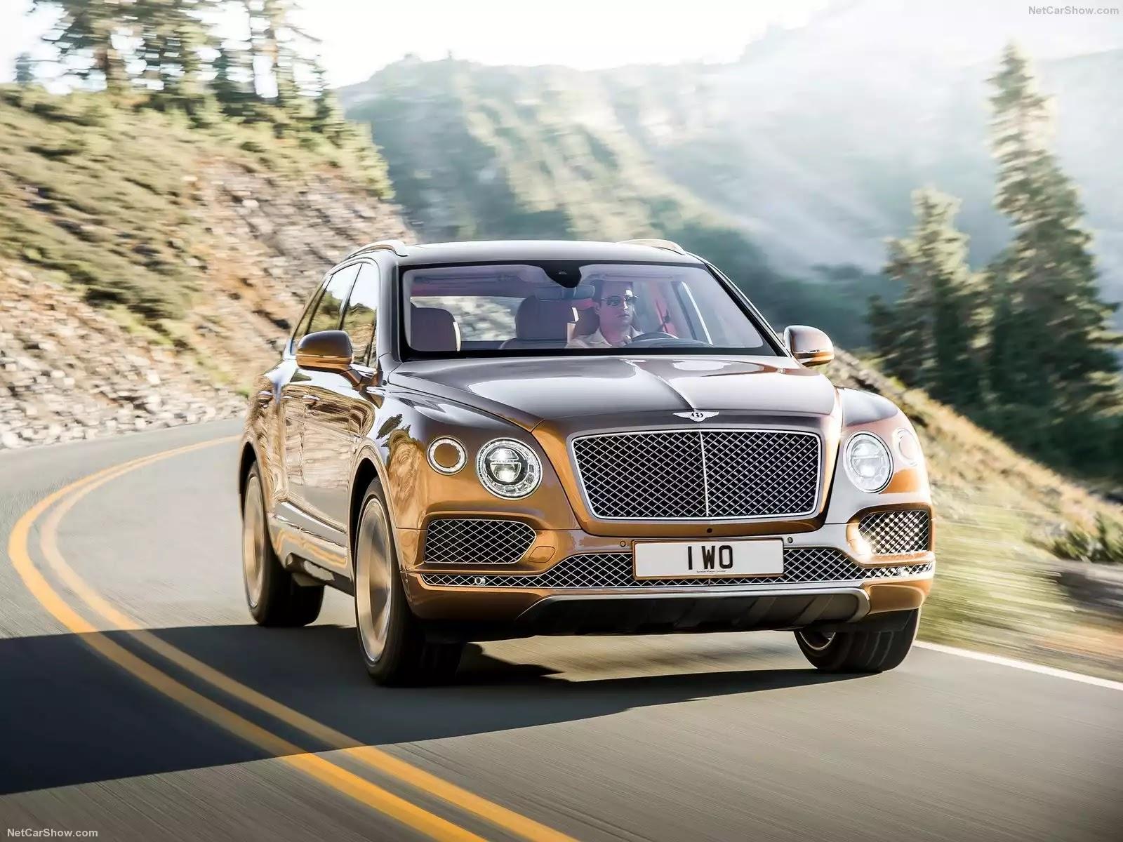 Bentley Bentayga 2016 sẽ là chiếc SUV hạng siêu sang nhanh nhất & mạnh nhất thế giới