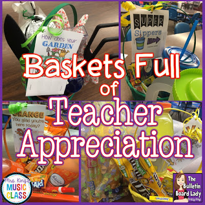 Baskets Full of Teacher Appreciation by Tracy King