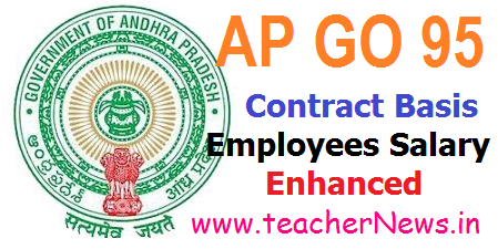 AP Contract Employees Salaries Enhanced GO 95 - Minimum Remuneration Monthly Rs.12000