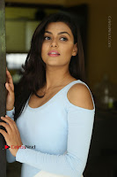 Anisha Ambrose Latest Pos Skirt at Fashion Designer Son of Ladies Tailor Movie Interview .COM 1113.JPG
