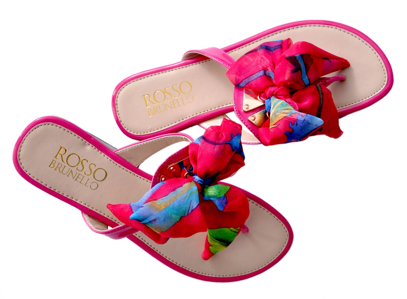 29b844d0c138b2 With arrival of spring summer update your style quotient with Rosso  Brunello colorful slippers. These slippers are super stylish and with hint  of ...
