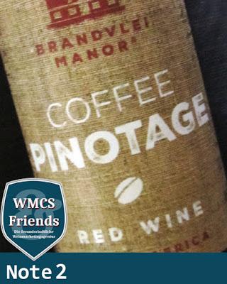 Brandvlei Manor Coffee Pinotage Südafrika 2015