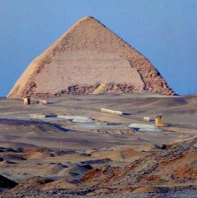 Pirámide de Blunted (pirámide romboidal)