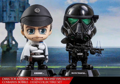 Star Wars Rogue One Orson Krennic & Death Trooper Specialist Cosbaby Mini Figure Set by Hot Toys