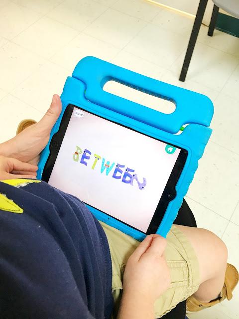 Toddler endless alphabet app vocabulary