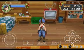 Harvest Moon - Hero of Leaf Valley (USA) ISO Psp