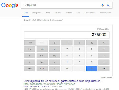 calculadora Google