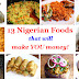 Nigerian Meals and Snacks that will Make You Money