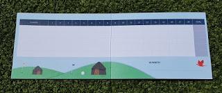 Dragon's Quest Mini Golf scorecard from Fontygary Leisure Park