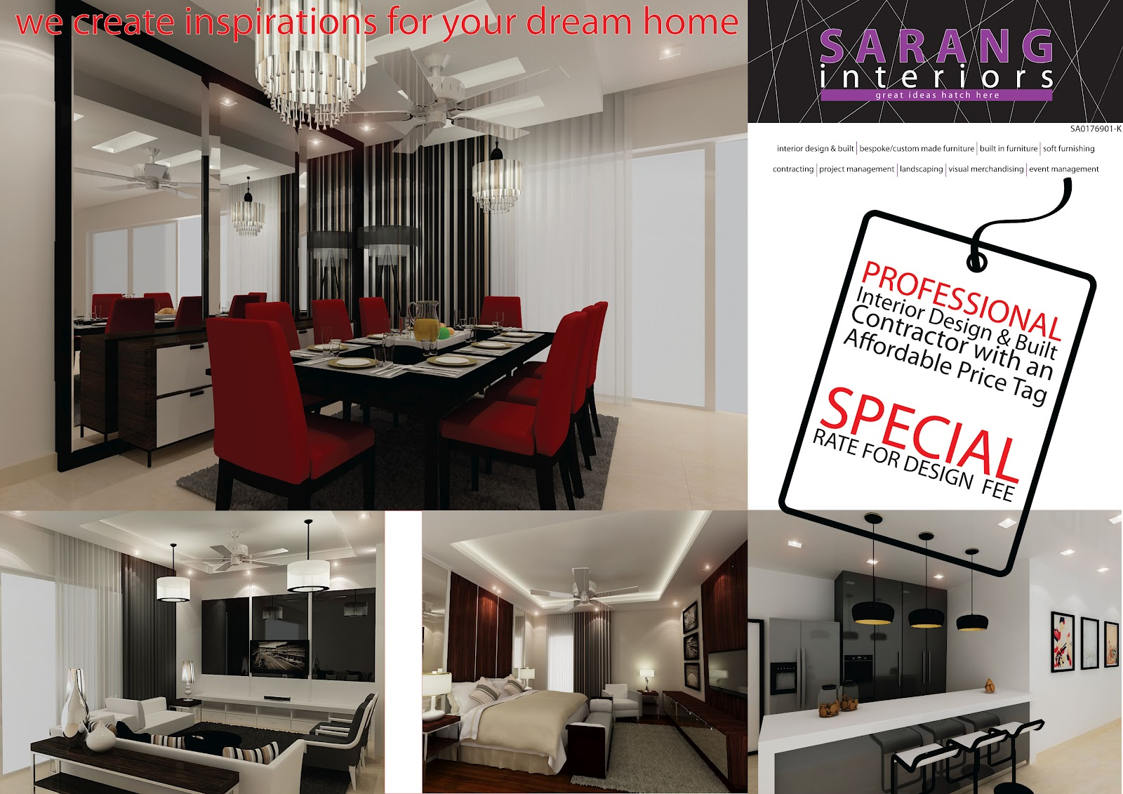 Sarang Interiors Modern Tropical Interior Design By: SARANG INTERIORS: SARANG INTERIORS ::Professional Interior