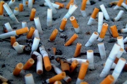 Buang Puntung Rokok Saja Tidak Bisa