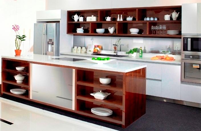 Rak Kabinet Dapur Minimalis Modern Sederhana
