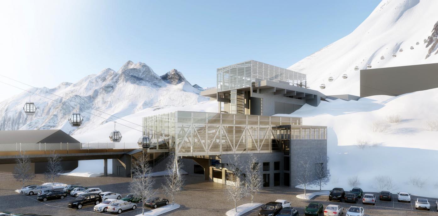 Arlberg - Alpe Rauz