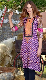 Sanam Chottani Embroidered Tunic Collection 2016