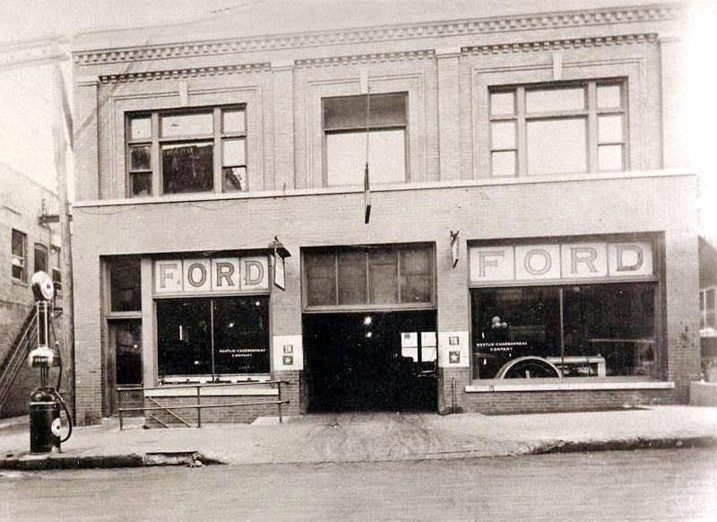 Westlie Ford Minot >> Minot-Memories: Westlie Motor Company
