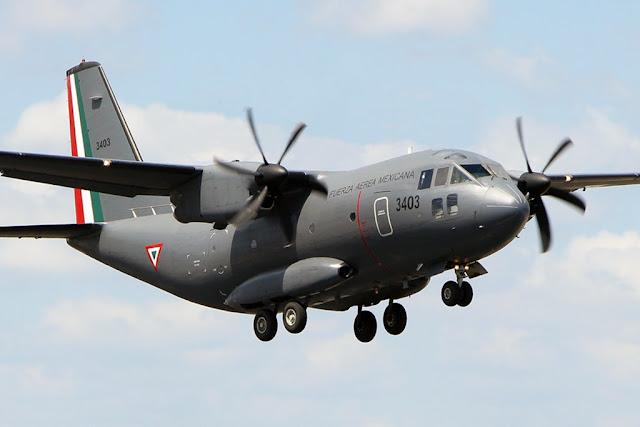 Lenardo aircraft Mexico FAMEX
