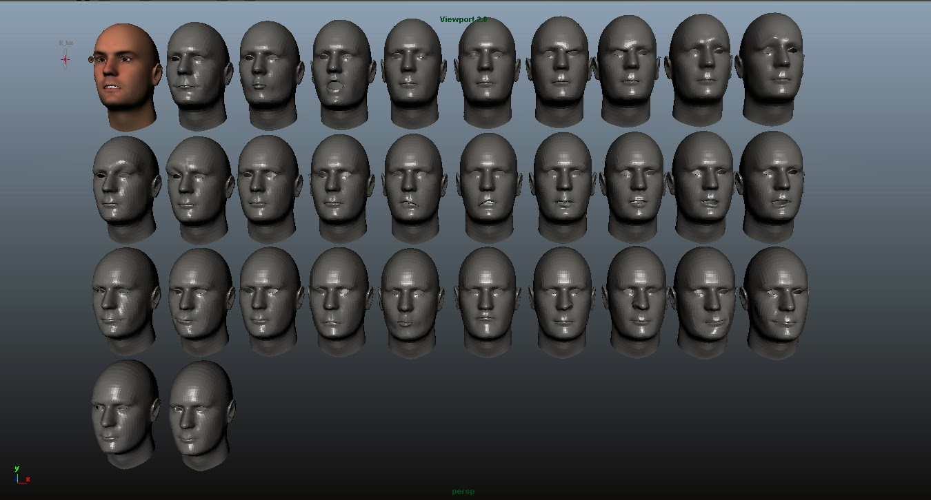 Final year project by Pablo Miquel: Entry #3 Mixamo's Face Plus