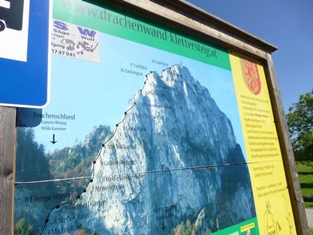 Klettersteig Mondsee : Dr martina rauscher klettersteig drachenwand in mondsee