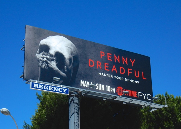 Penny Dreadful season 3 Master your demons billboard