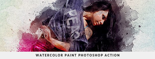 Grunge Painter Photoshop Action - 75