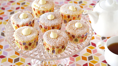 Moist and fluffy cupcakes with custard whipped cream filling.