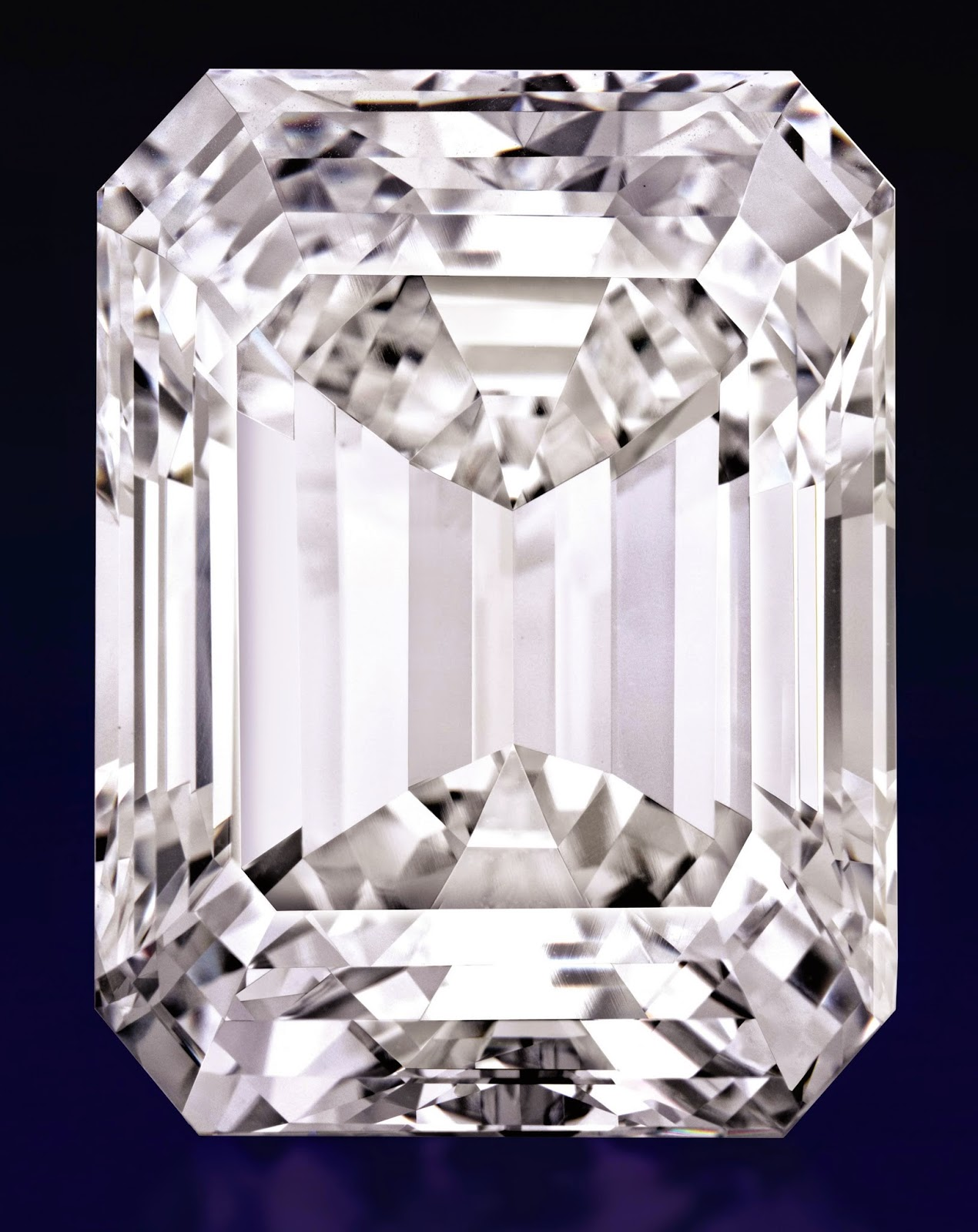88ab96f5e It took more than a year to study, cut and polish the rough into the  100-carat diamond.