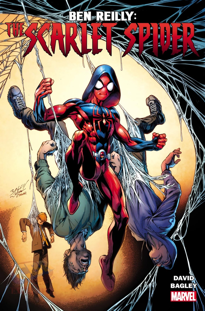 Check Out Ben Reilly's Newly Redesigned Scarlet Spider Costume.