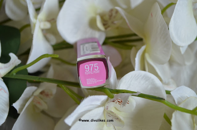 Maybelline Color Sensational Lipstick Playful Peony 975 Shade