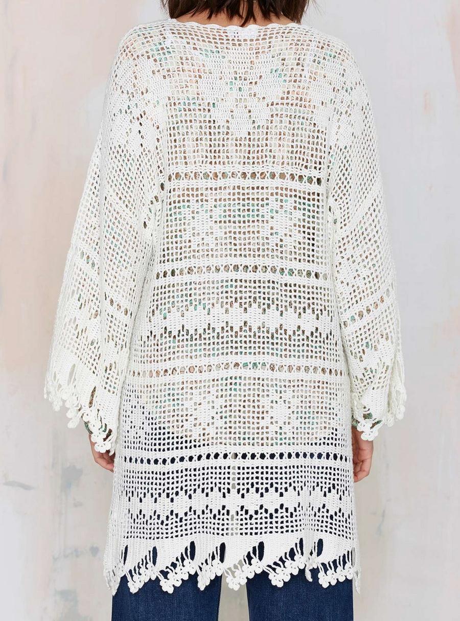 Crochet Sweaters Crochet Kimono Crochet Oversize Cardigan