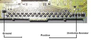 Conexion luz retroiluminacion GBA
