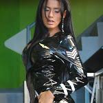 Andrea Rincon, Selena Spice Galeria 5 : Vestido De Latex Negro Foto 116
