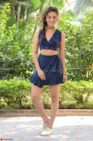 Seerat Kapoor Stunning Cute Beauty in Mini Skirt  Polka Dop Choli Top ~  Exclusive Galleries 064.jpg