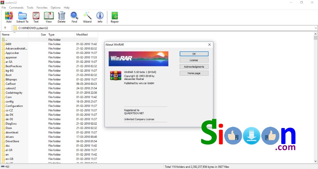 winrar for pc free download