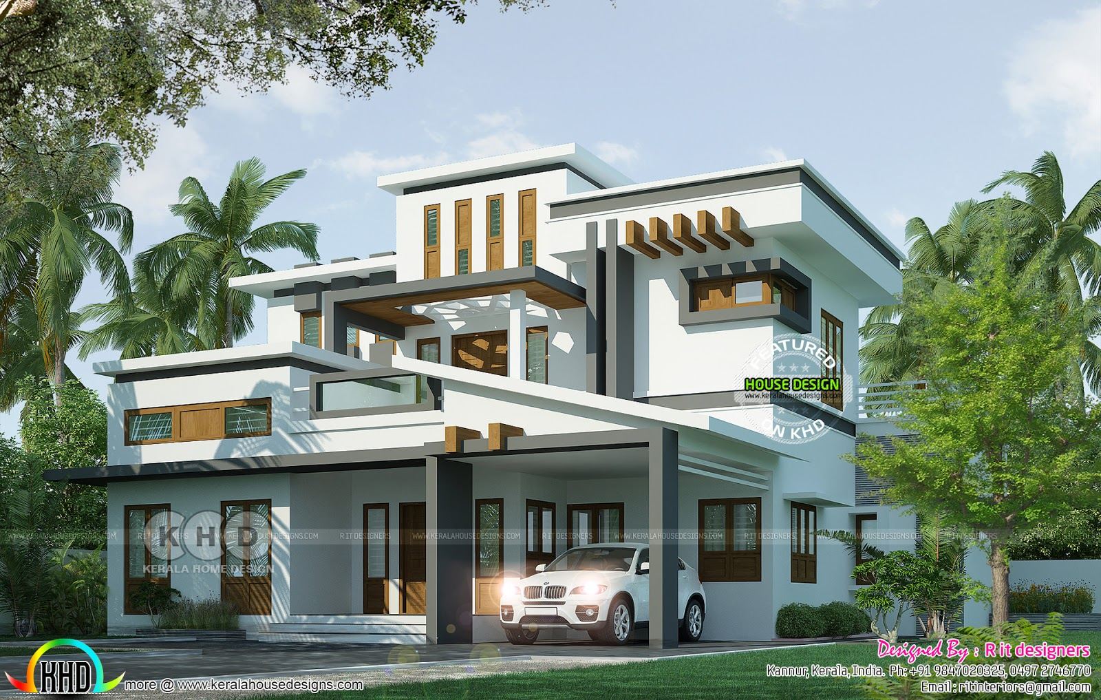 Kerala New Model House Images 2018