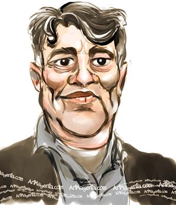 Thomas Wernerson är en karikatyr tecknad av Artmagenta