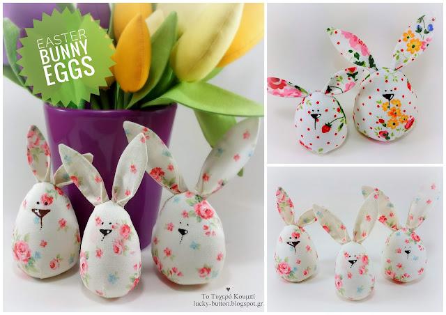 """Easter bunny egg"" ."