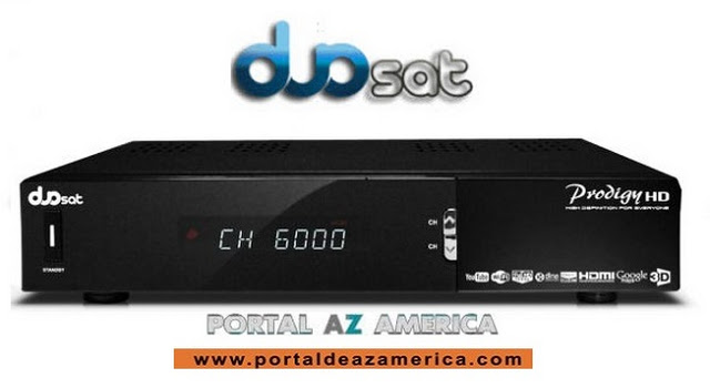 Resultado de imagem para DUOSAT PRODIGY HD MM portal azamerica
