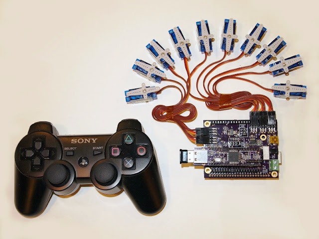 How To Role A Ps3 Controller Equally A Wireless Servo In Addition To I/O Controller!