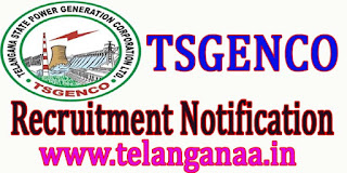 TSGENCO Management Trainee Working Student Notification Recruitment 2016 Jobs Online Apply