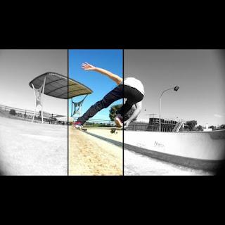 Mark Jansen Skateboarding Adelaide West Beach Bowl