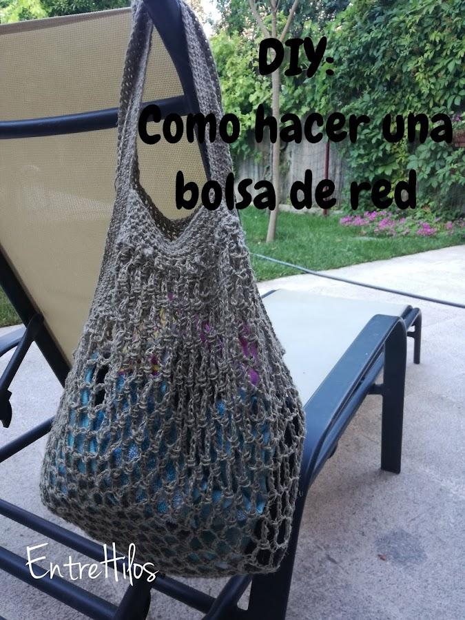 Como hacer una bolsa de Red