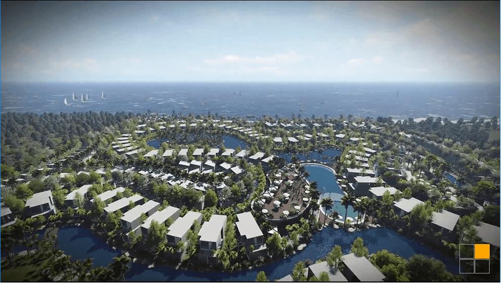 Tầm View biển dự án Osho Hồ Tràm
