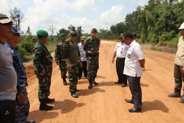 TMMD Fokus Peningkatan Jalan Desa Umpang