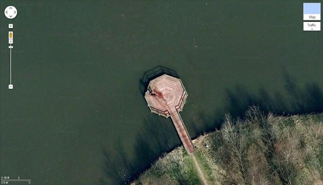 Coisas estranhas flagradas no Google Street View