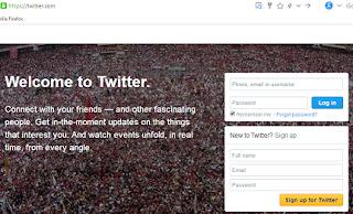 Cara Membuat Akun Twitter Terbaru Menggunakan Akun Gmail Di Laptop
