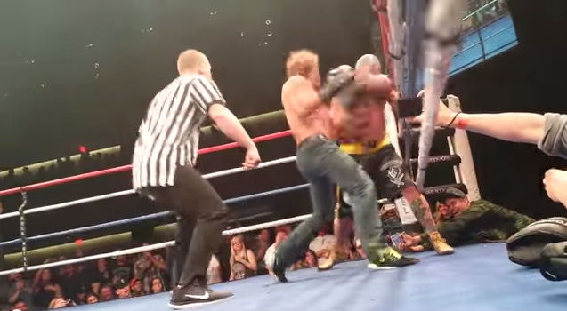 Urijah Faber goes HAM on Jason Ellis before fight