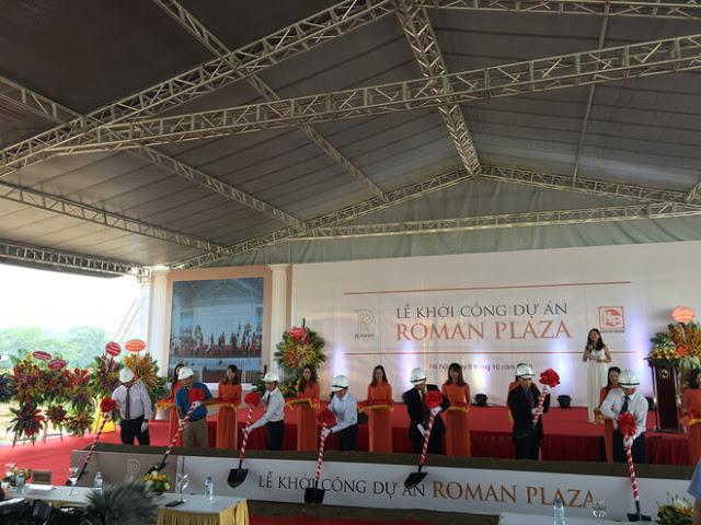 Lễ khởi công tại chung cư Roman Plaza Đại Mỗ
